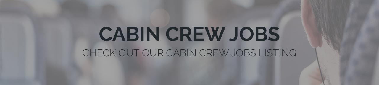 Cabin Crew Jobs Banner