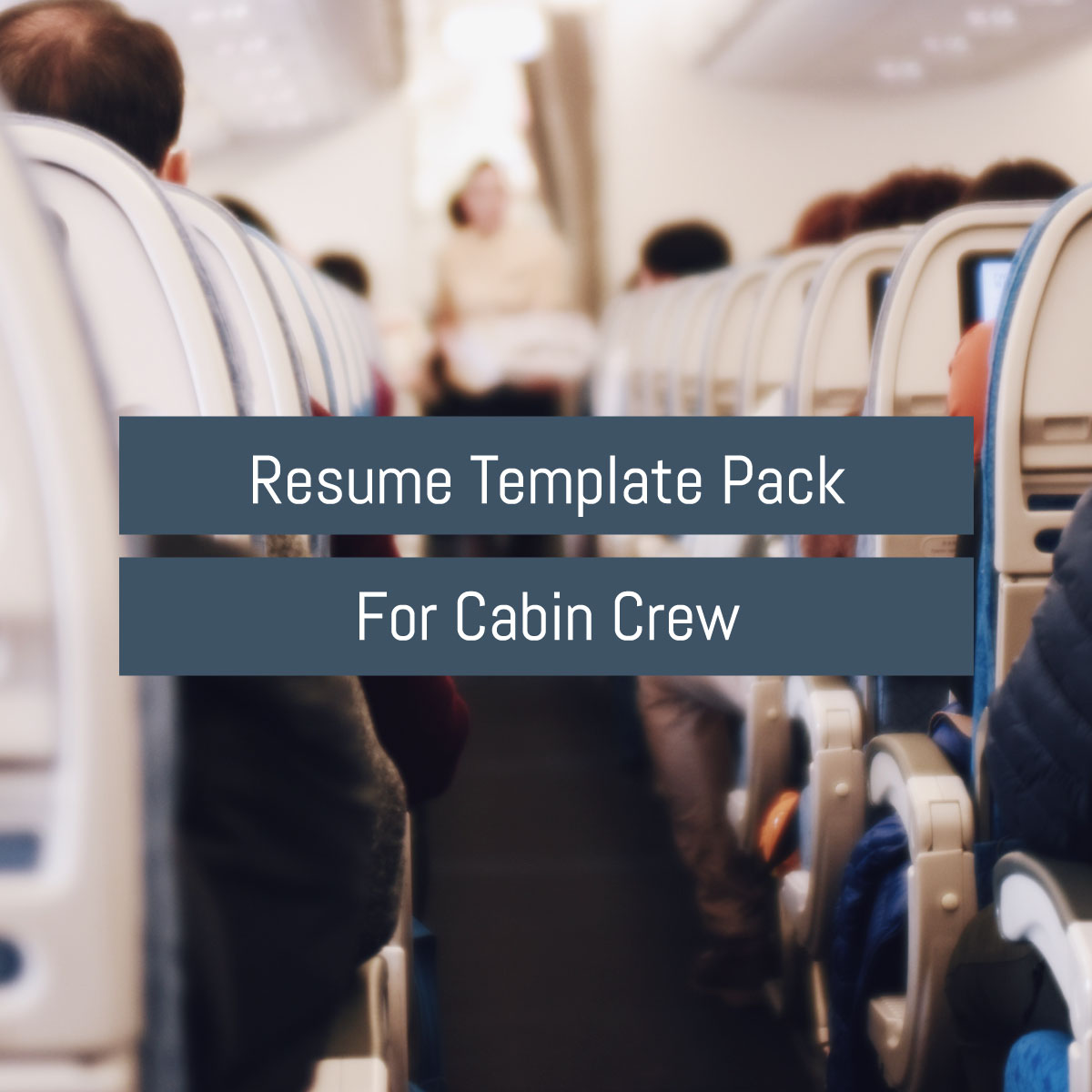 cabin crew resume template pack  product download  u2013 7 day